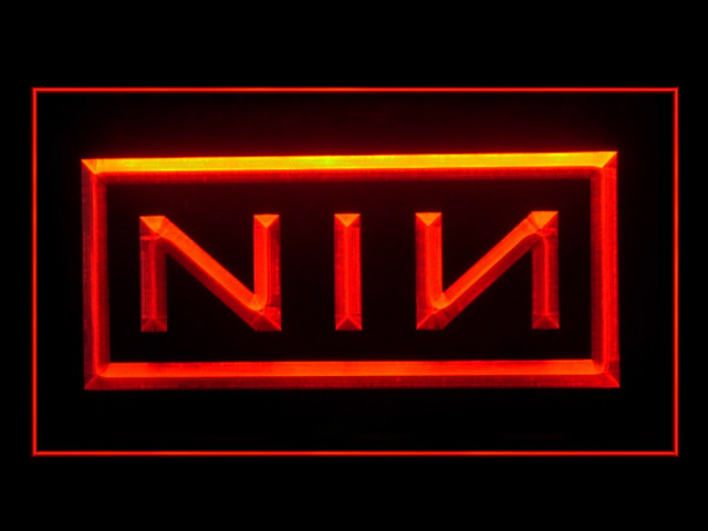 NIN Nine Inch Nails Display Led Light Sign