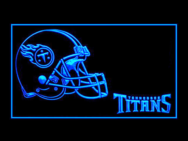 Tennessee Titans Helmet Shop Neon Light Sign
