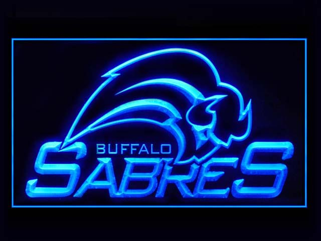 Buffalo Sabres Hockey Display Shop Neon Light Sign