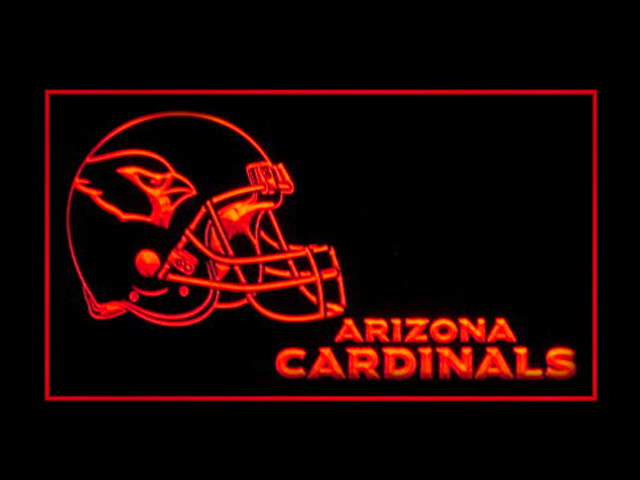 Arizona Cardinals Helmet New Display Neon Light Sign