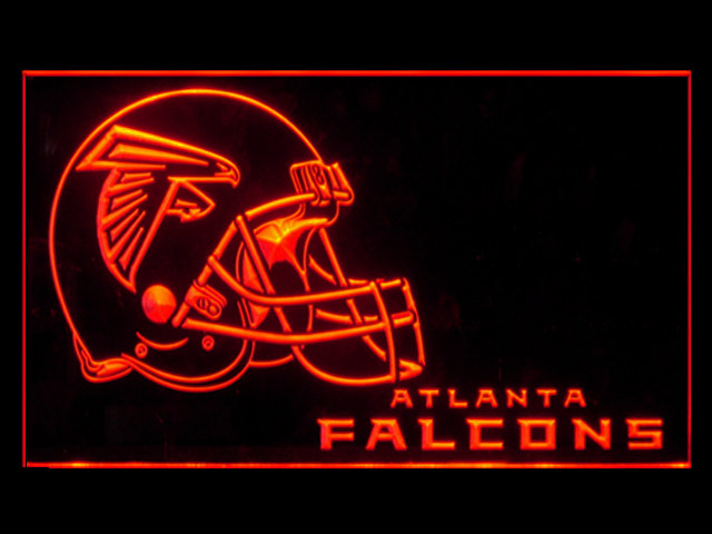 Atlanta Falcons Helmet New Display Shop Neon Light Sign