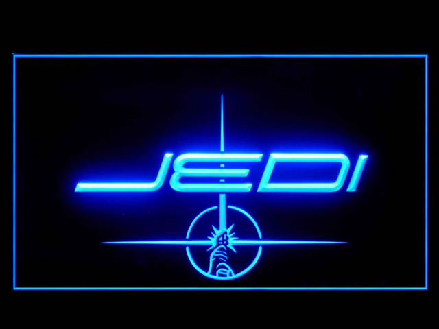 Star Wars Jedi Neon Light Sign