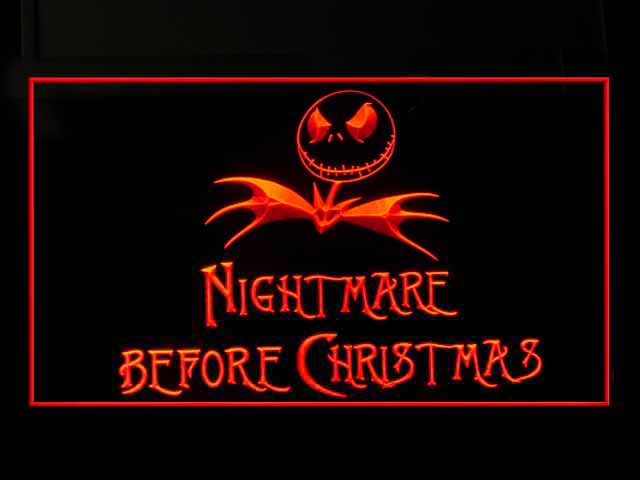Nightmare Before Christmas Jack Neon Light Sign