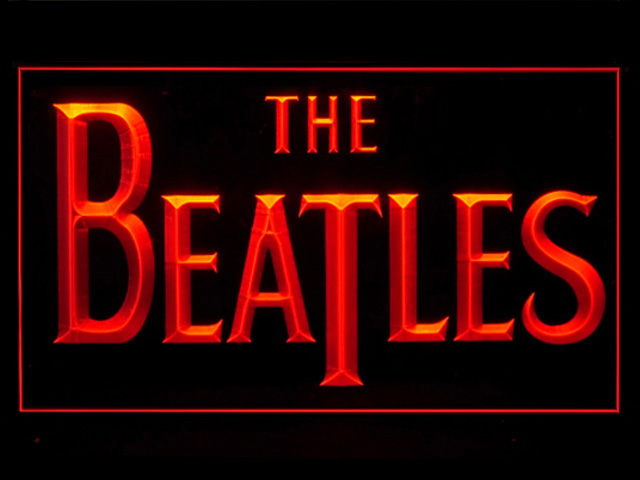 The Beatles Band Display Led Light Sign