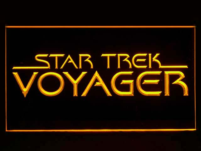 Star Trek Voyager Display Neon Light Sign