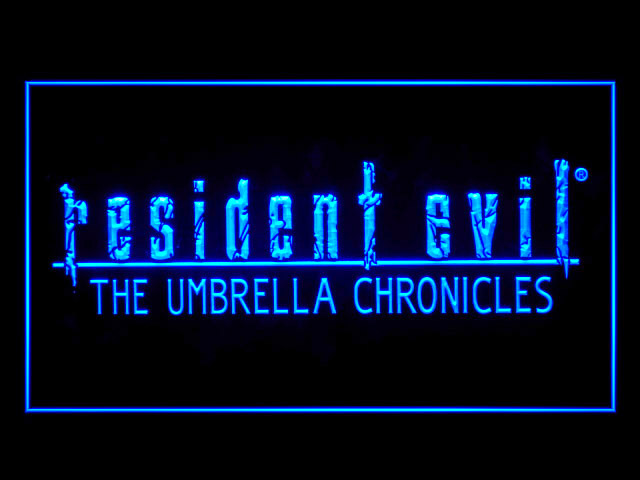 Resident Evil The Umbrella Chronicles Neon Light Sign