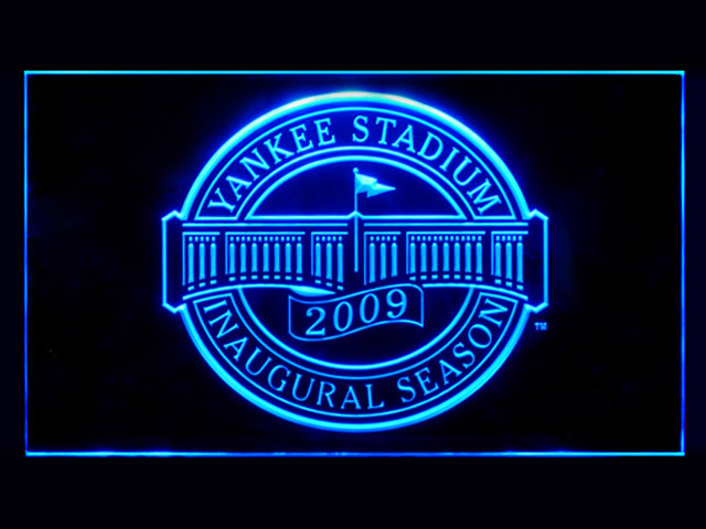 Yankee Stadium Inaugural Display Shop Neon Light Sign