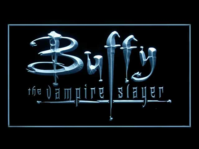 Buffy the Vampire Slayer Neon Light Sign