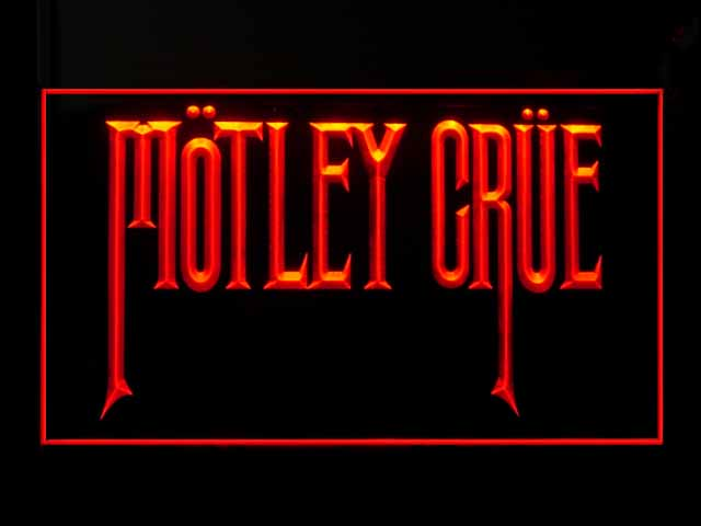 Motley Crue Display Led Light Sign