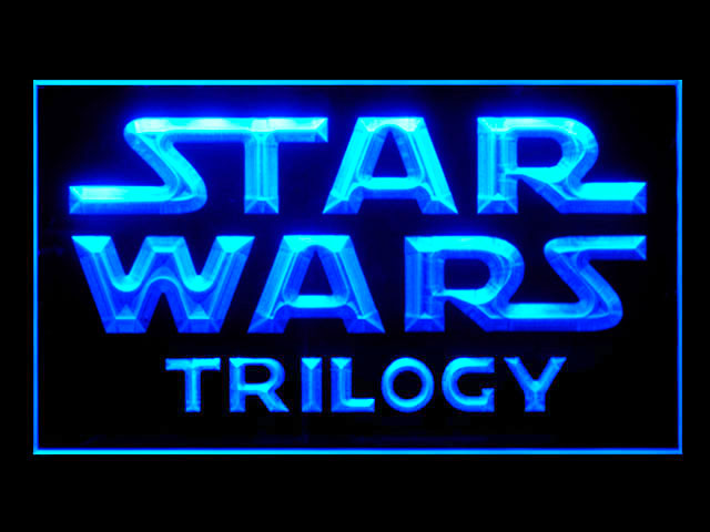 Star Wars Trilogy Display Neon Light Sign