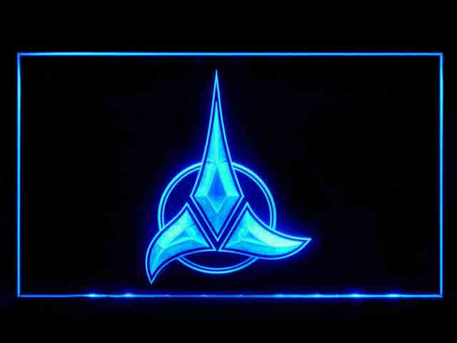 Star Trek Klingon Symbol Display Neon Light Sign