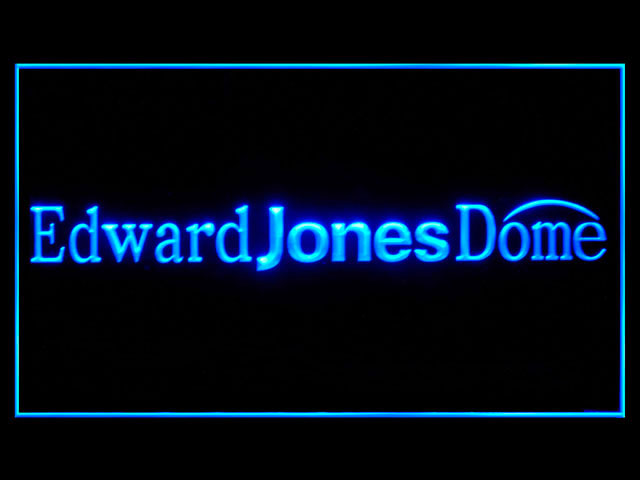 St. Louis Rams Edward Jones Dome Shop Neon Light Sign
