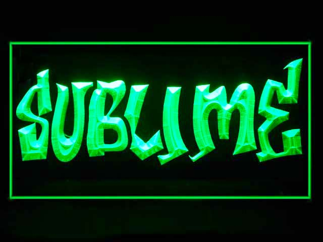 Sublime Display Led Light Sign