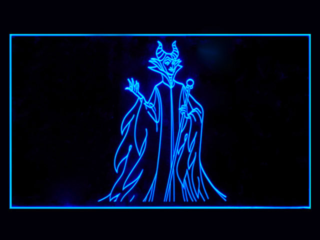 Maleficent Neon Light Sign