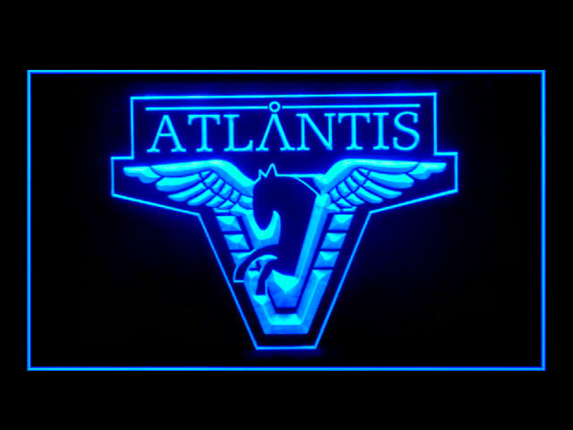 Stargate Atlantis Display Neon Light Sign
