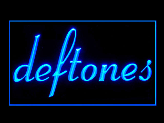 Deftones Display Led Light Sign