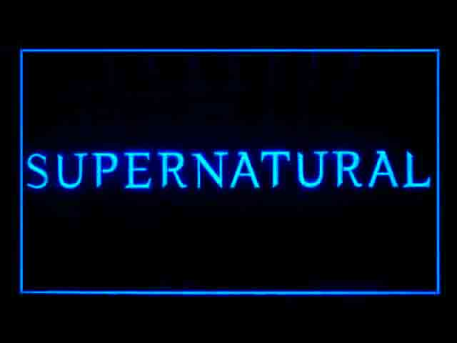 Supernatural Neon Light Sign