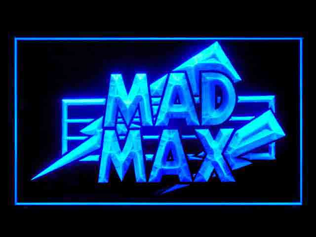 MAD MAX Neon Light Sign