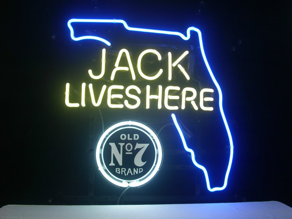 Jack Daniels Florida State Classic Neon Light Sign 16 x 14