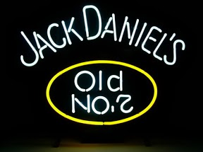 Jack Daniels Old Number 7 Classic Neon Light Sign 17 x 14