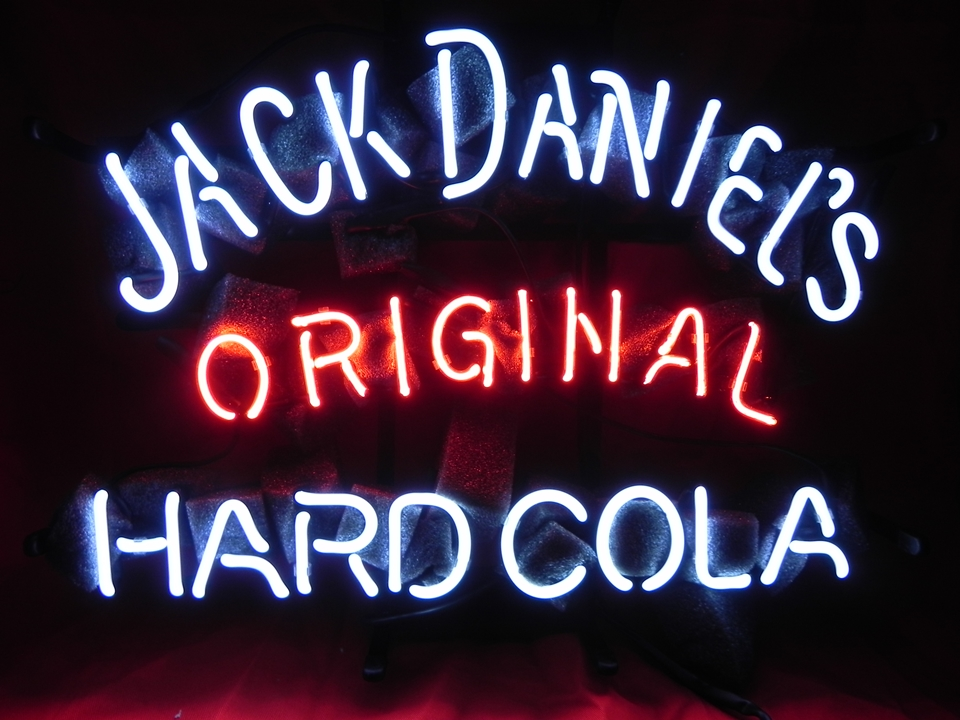 Jack Daniels Original Hard Cola Neon Light Sign 17 x 14
