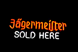 Jagermeister German Bar Classic Neon Light Sign 22x10