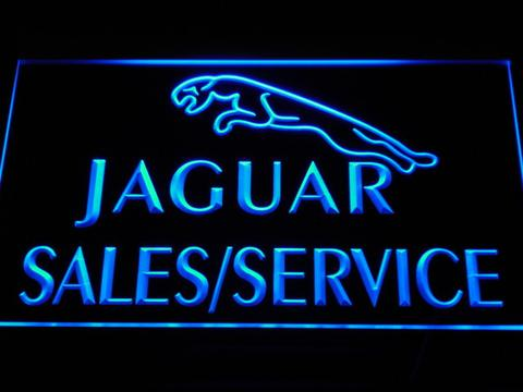 Jaguar Sales and Service LED Neon Sign