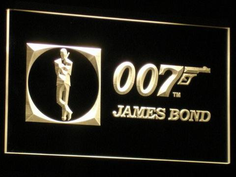 James Bond 007 LED Neon Sign