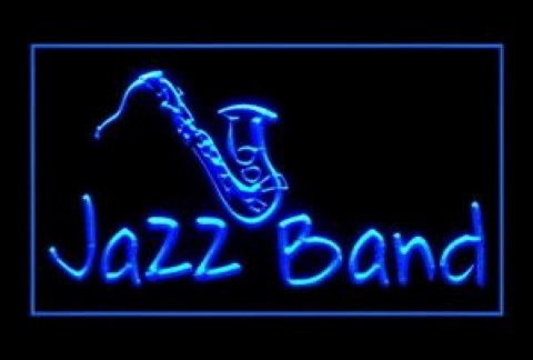 Jazz Band 2 LED Neon Sign