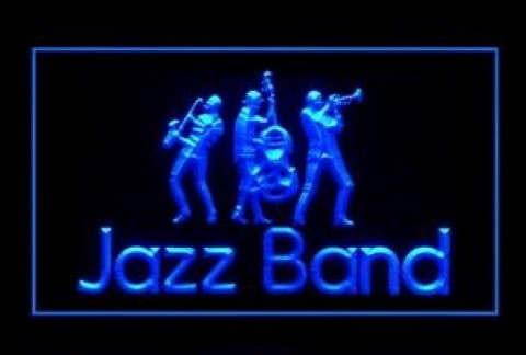 Jazz Band LED Neon Sign