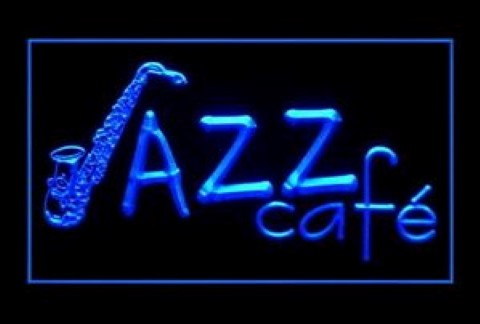 Jazz Cafe LED Neon Sign