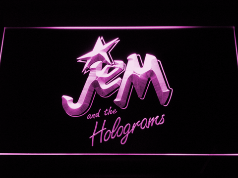 Jem and the Holograms LED Neon Sign