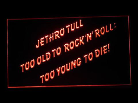 Jethro 2 Tull LED Neon Sign