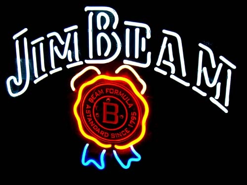 Jim Beam Distillery Logo Classic Neon Light Sign 16 x 15