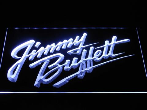 Jimmy Buffett's Script Logo LED Neon Sign