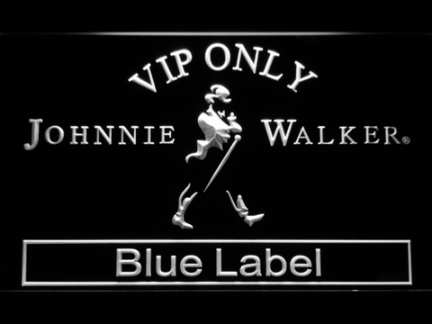 Johnnie Walker Blue Label VIP Only LED Neon Sign