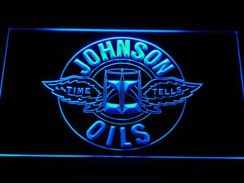 Johnson Motor Oils LED Neon Sign