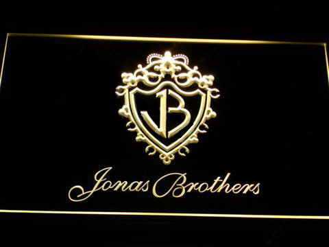 Jonas Brothers 2 LED Neon Sign