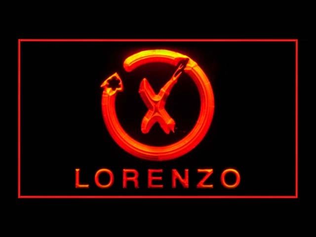 Jorge Lorenzo LED Light Sign
