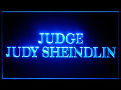 Judge Judy LED Neon Sign