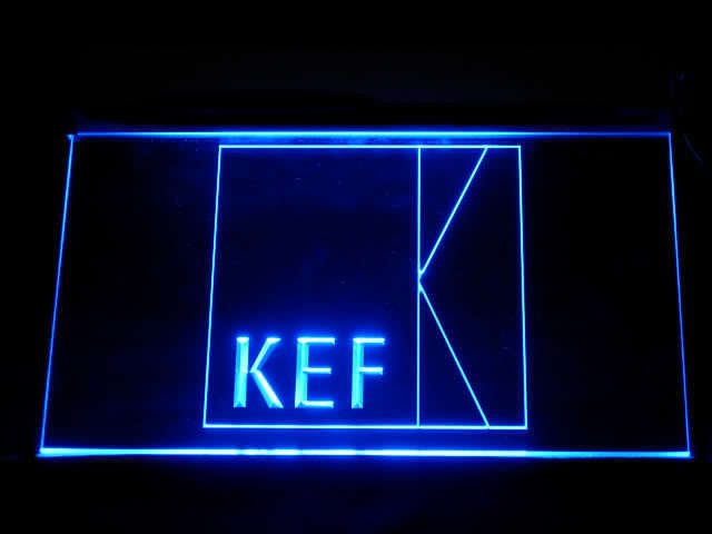 KEF LED Light Sign