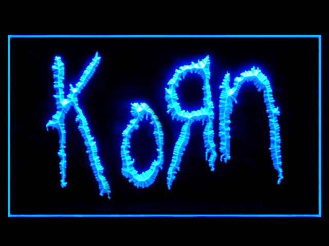 KORN Music Display Led Light Sign