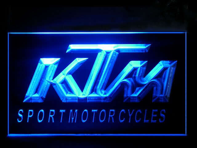 KTM Sport Motorcycles LED Sign