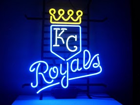 Kansas City Royals Classic Neon Light Sign 17 x 14