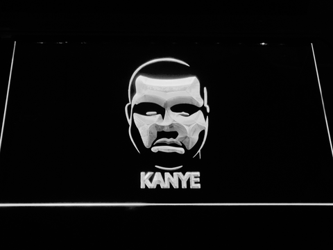 Kanye West Face LED Neon Sign
