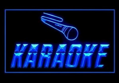 Karaoke Box LED Neon Sign