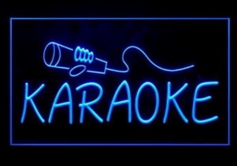 Karaoke Lounge LED Neon Sign