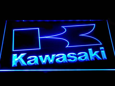 Kawasaki K Outline LED Neon Sign