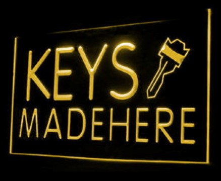 Keys Made Here LED Neon Sign