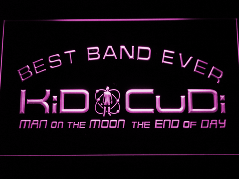 Kid Cudi Best Band Ever LED Neon Sign